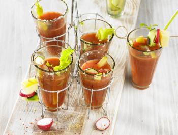 Un esmorzar-dinar refrescant: Coconut Bloody Mary