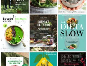14 llibres de salut i alimentació per gaudir de Sant Jordi!