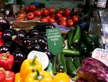 Arriben els comerços verds als mercats de Barcelona