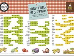 Vols el calendari en paper de fruites i verdures eco de temporada d'Etselquemenges?