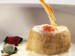 Carme Ruscalleda: Lluç amb pa amb tomàquet