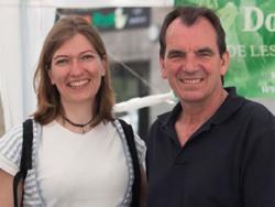 """Christine Bertin i Francisco Julián, membres de """"La dolça revolució de les plantes medicinals"""""""
