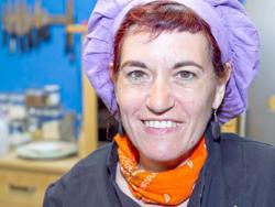 Maria Pilar Ibern, gavina, escriptora i professora d'alimentació vegetariana