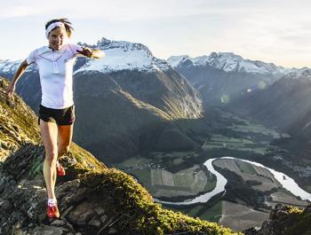 Emelie Forsberg, esportista i vegetariana