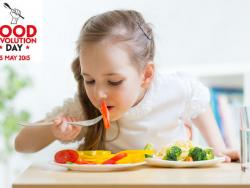 Etselquemenges se suma al Food Revolution Day en un acte a favor dels menjadors escolars ecològics a Barcelona