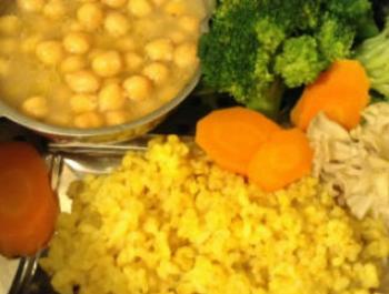 Com reescalfar una resta de cereal integral