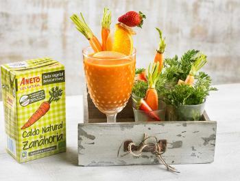 El caldo de pastanaga: la base estrella per a les cremes fredes d'estiu