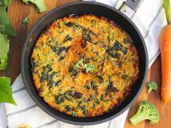 Frittata de bròcoli i kale