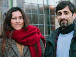 Marc Vergés i Glenn Cots, autors i conductors del Repte AIP d'Etselquemenges