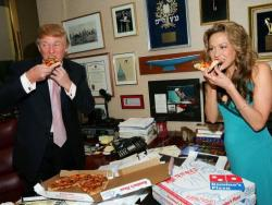 Trump, a la Casa Blanca amb un BigMac