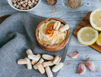 Hummus, l'humil paté de cigrons amb proteïna completa