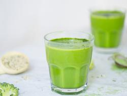 Super green smoothie per netejar la sang