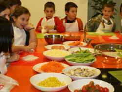 Per Setmana Santa, casal infantil de cuina i salut