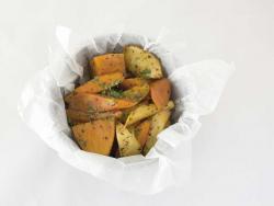 Papillota de verdures dolces