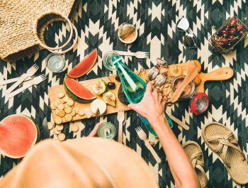 Idees veganes i vegetarianes per anar de pícnic