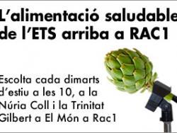 Núria Coll i Trinitat Gilbert estrenen secció radiofònica d'alimentació saludable a Rac1