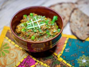 Rangoli: cuina vegana en un restaurant hindú!