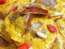Raviolis de carbassa amb cor de tomàquet