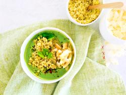 Sopa verda miraculosa