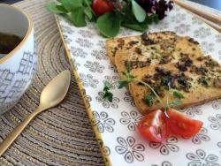 Tofu chimichurri, barbacoa vegana de luxe!
