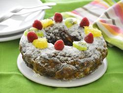 Tortell de Reis amb fruites