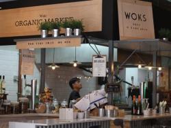 El nou Woki, un restaurant-mercat ecològic