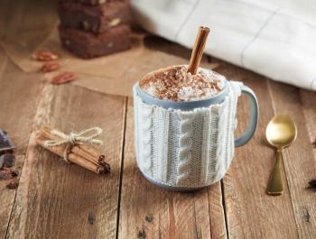 Xocolata calenta amb nata de coco